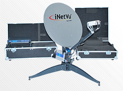 C-COM ANTENNA TRACKS NSLComm LEO SATELLITE