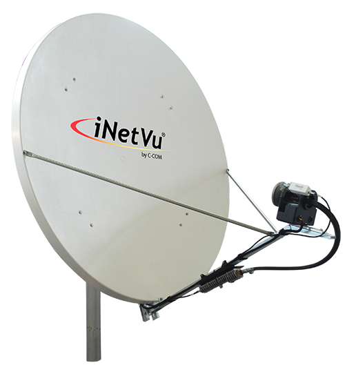 Satellite Dish FMA-180+ (Ku, C & X Bands) - C-COM Satellite