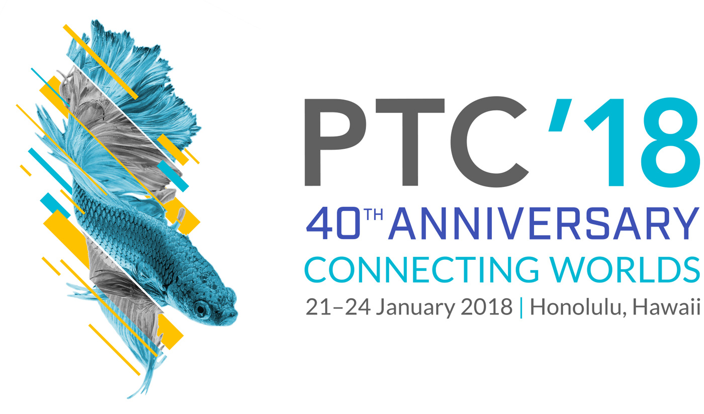 Leslie Klein Speaking @ PTC'18 21-24 JANUARY 2018 | HONOLULU, HI