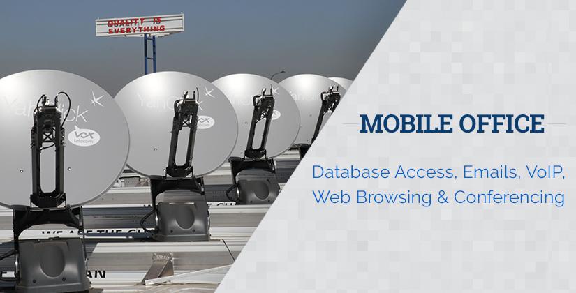 Mobile Satellite Internet for Office