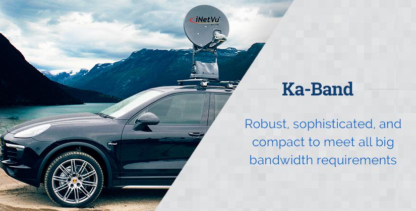 iNetVu Ka Band Mobile Antennas